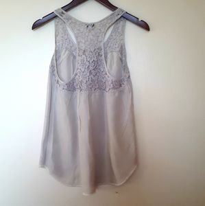 Wilfred Tops - Wilfred Lace Racer back Tank ( XS)